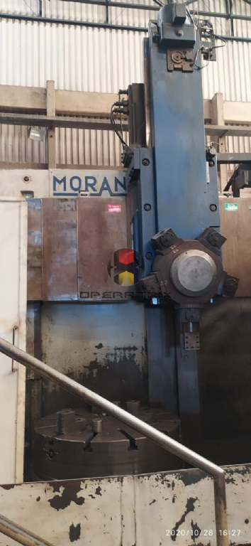 Foto: TORNO VERTICAL CNC MORANDO PLACA 800MM PASSAGEM 1000MM
