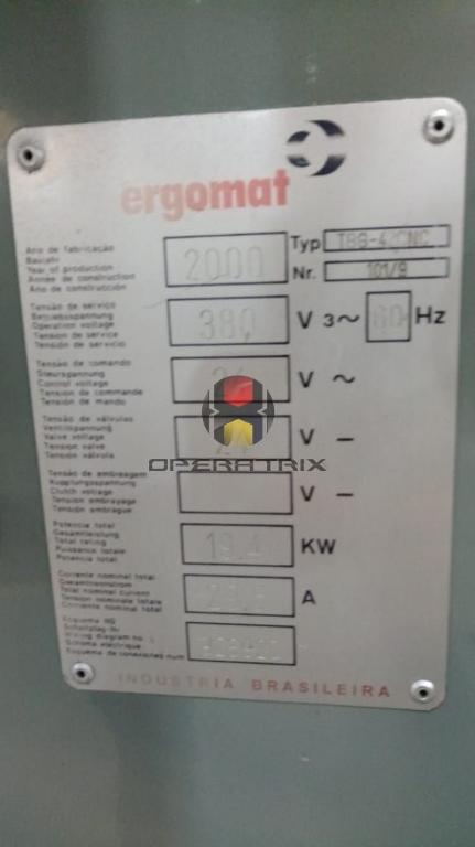 Foto: TORNO CNC AUTOMATICO ERGOMAT GANG TBG 42 ANO 2000